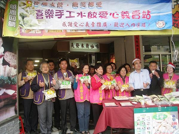 陳義發餅店今年已經是第7年協助義賣喜樂手工水餃了。