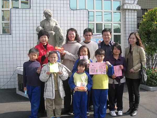 長安國小小朋友來喜樂保育院參訪!