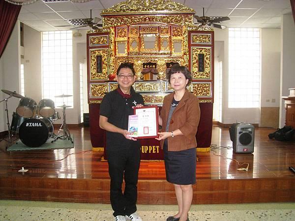 感謝台北木偶劇團願意遠從台北至二林鄉下演出