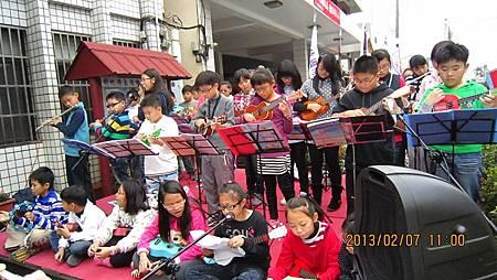 鴻韻音樂教室演奏悅耳音樂