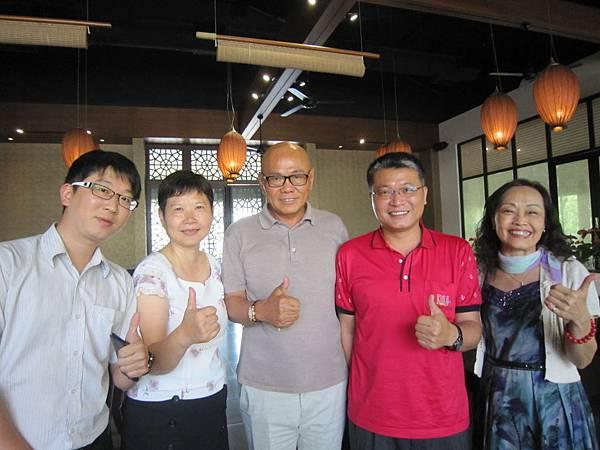 陳錦福董事長與來賓合影