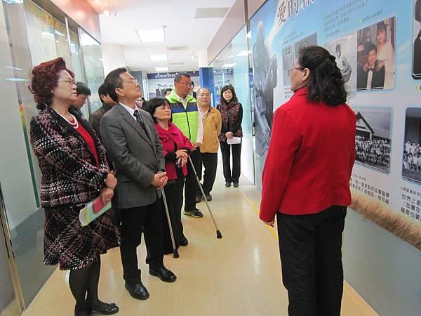 魏明谷縣長等長官參訪瑪喜樂生命教育園區