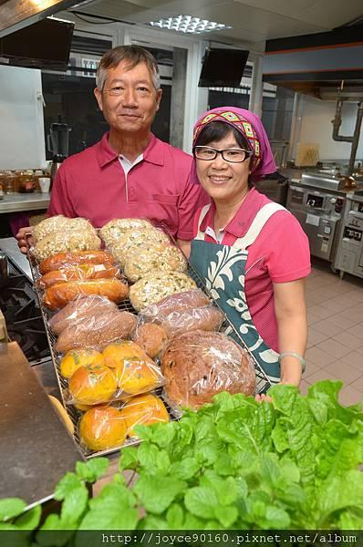 莊姐與呂大哥經營的宜興園,有許多健康好吃的美食。.JPG