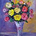 玫瑰花靜物