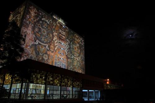 墨西哥國立自治大學中央圖書館