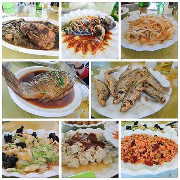 呼倫湖午餐