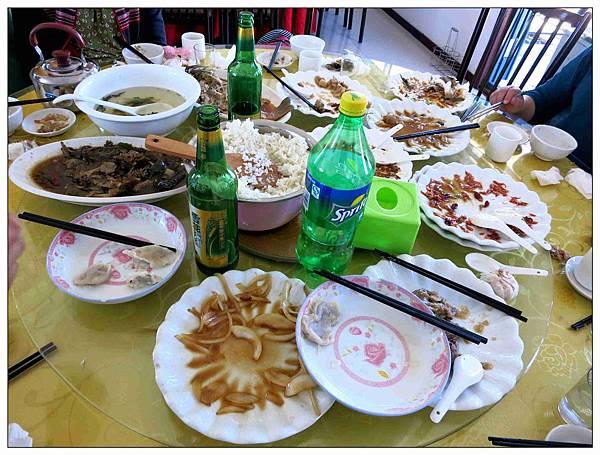 呼倫湖午餐2