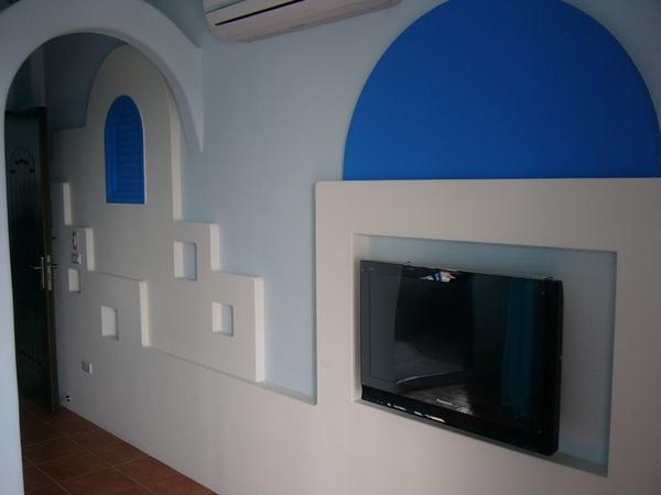 雙人房電視牆