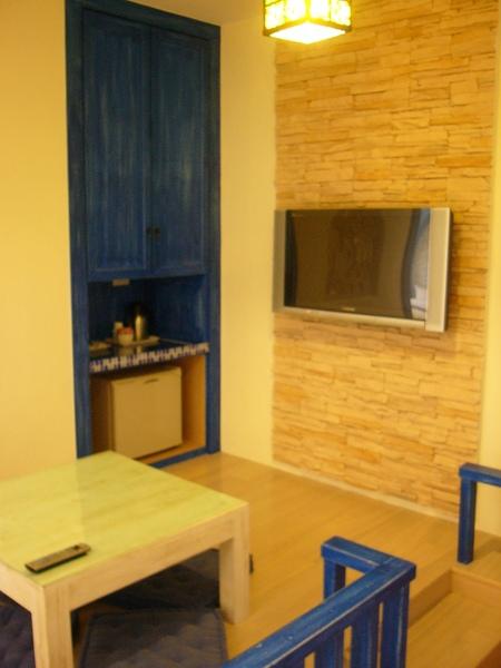 四人房小客廳和茶水衣物間