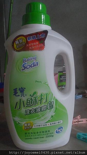 毛寶小蘇打洗衣液體皂
