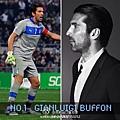 義大利-門將Gianluigi Buffon(詹路易吉-布馮,膩稱GIGI)