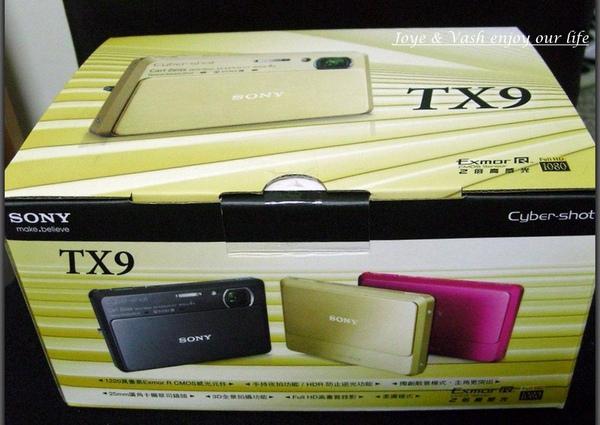 SONY TX-9 開箱文1.jpg