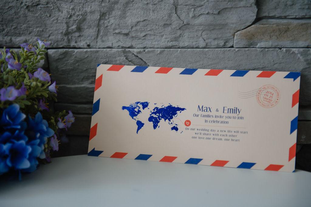 LEF單張雙面系列 精品婚卡