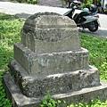里壠神社遺址--基座