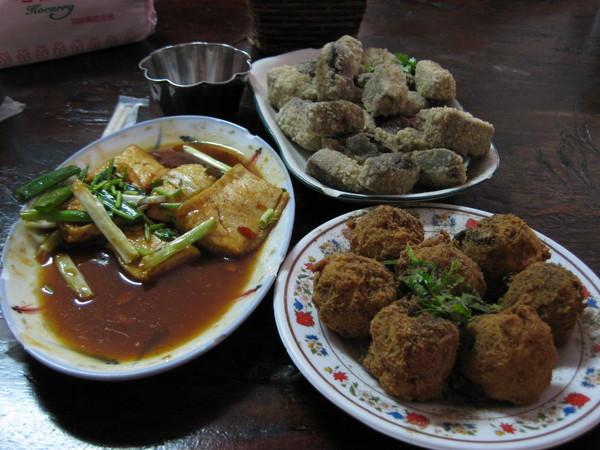 苗栗-泰安-冷水坑 清安豆腐店