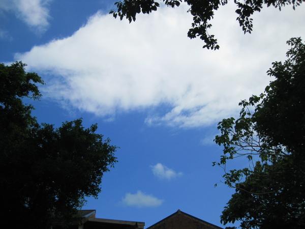 太魯閣的天空