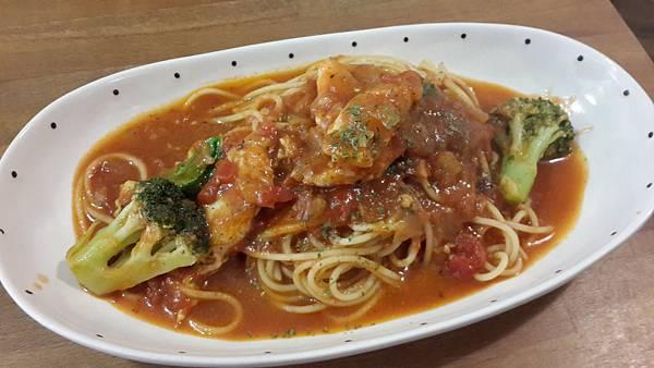 番茄雞肉義大利麵