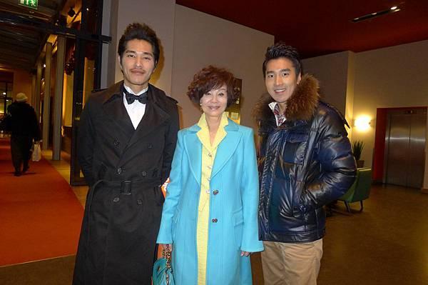 藍正龍和歸亞蕾在下榻飯店巧遇趙又廷