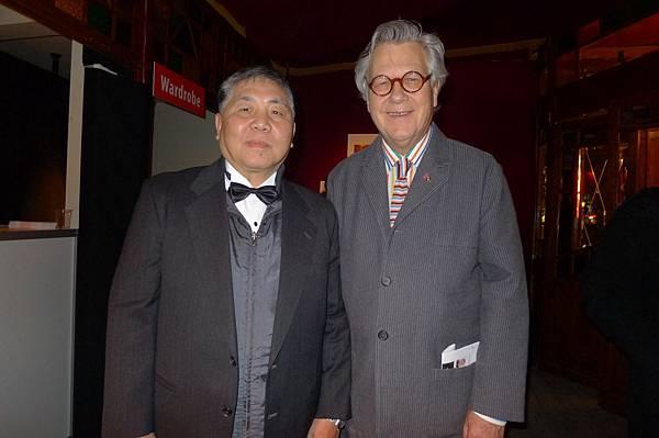徐立功(左)和湯瑪士史卓克