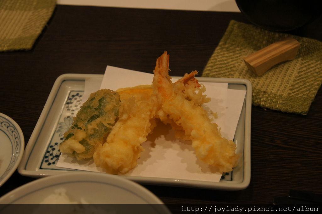2013つな八炸蝦天婦羅定食