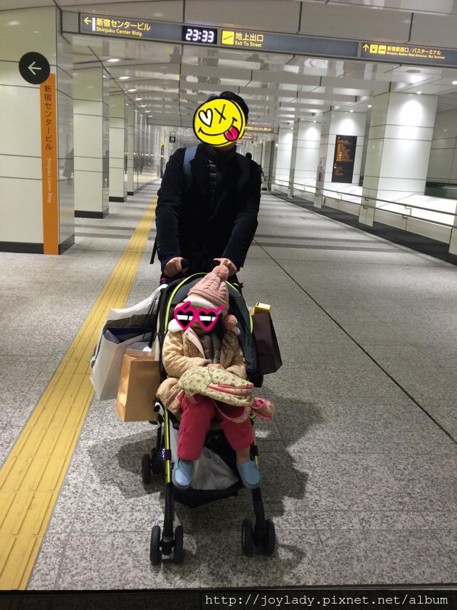 2015新宿地下道