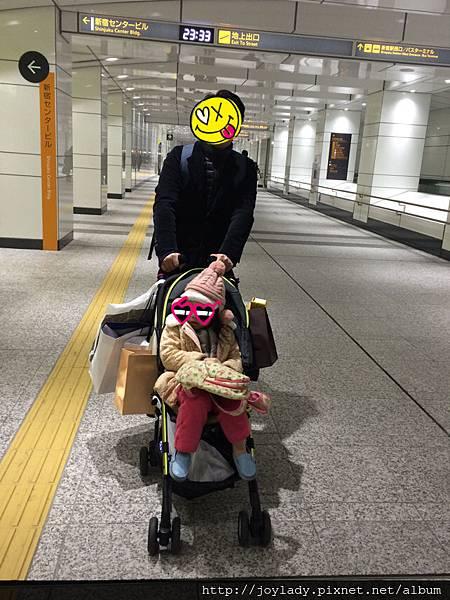 新宿人行地下道