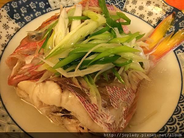 清蒸魚成品