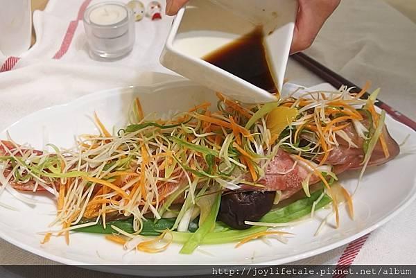 漁夫先生_清蒸紅條魚熟醬