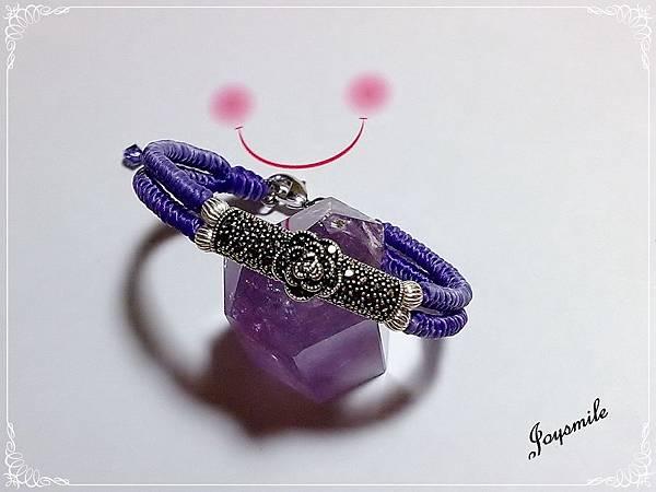 泰國銀飾蠶絲線手鍊