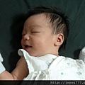 2012/9/13 小兒子天使般的微笑(1個月又24天)