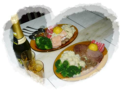 情人节晚餐