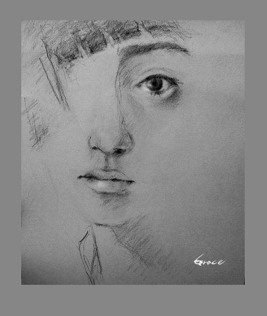 6B鉛筆手繪20150623_