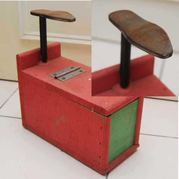自製修鞋箱
