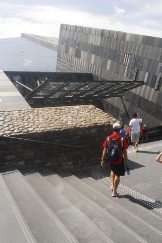 (蘭陽博物館)別樹一格的博物館入口.JPG
