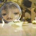 (蘭陽博物館)小朋友觀看蝴蝶幼蟲標本.JPG