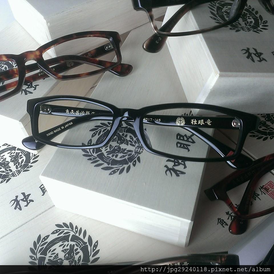 角矢甚治郎 銀之章 獨眼龍到貨 京品眼鏡販售中