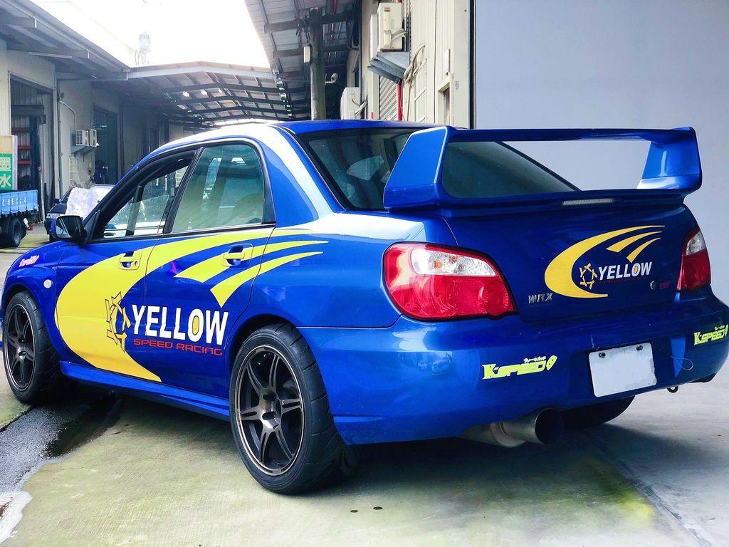 Subaru spec C 在YELLOW 賽車部門改造