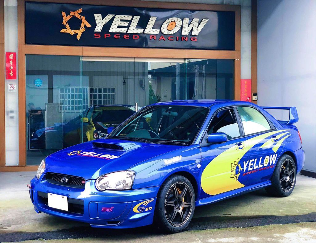 Subaru spec C 在YELLOW 賽車部門