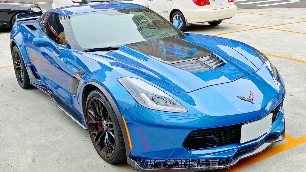Chevrolet C7 Corvette Z06 美式超跑肌肉車搭米其林PS4S