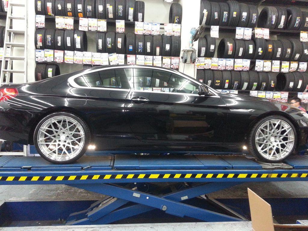 BMW 6系列四輪定位