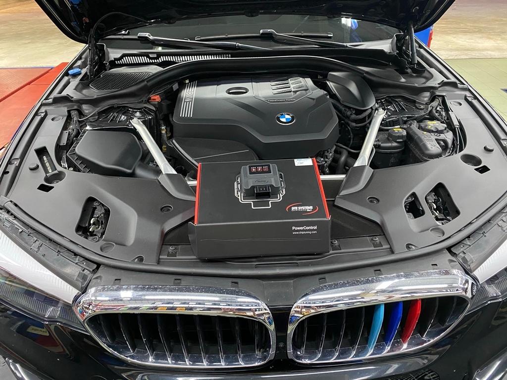 BMW 530i M Sport加裝德制DTE-Sytems外掛電腦