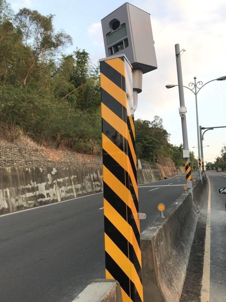台南市違規超速案件第1名是龍崎區182市道27.9公里處