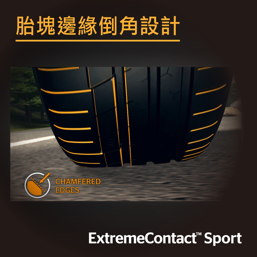 德國馬牌ECS輪胎特色