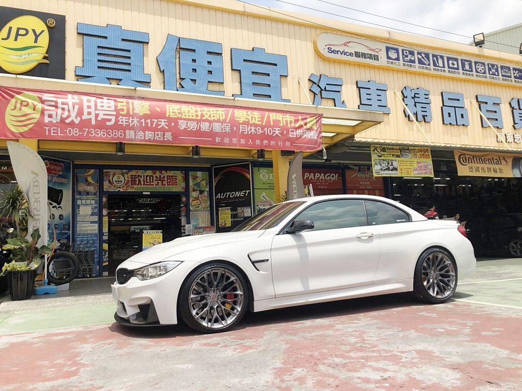 BMW M4美國HRE鋁圈完工照片