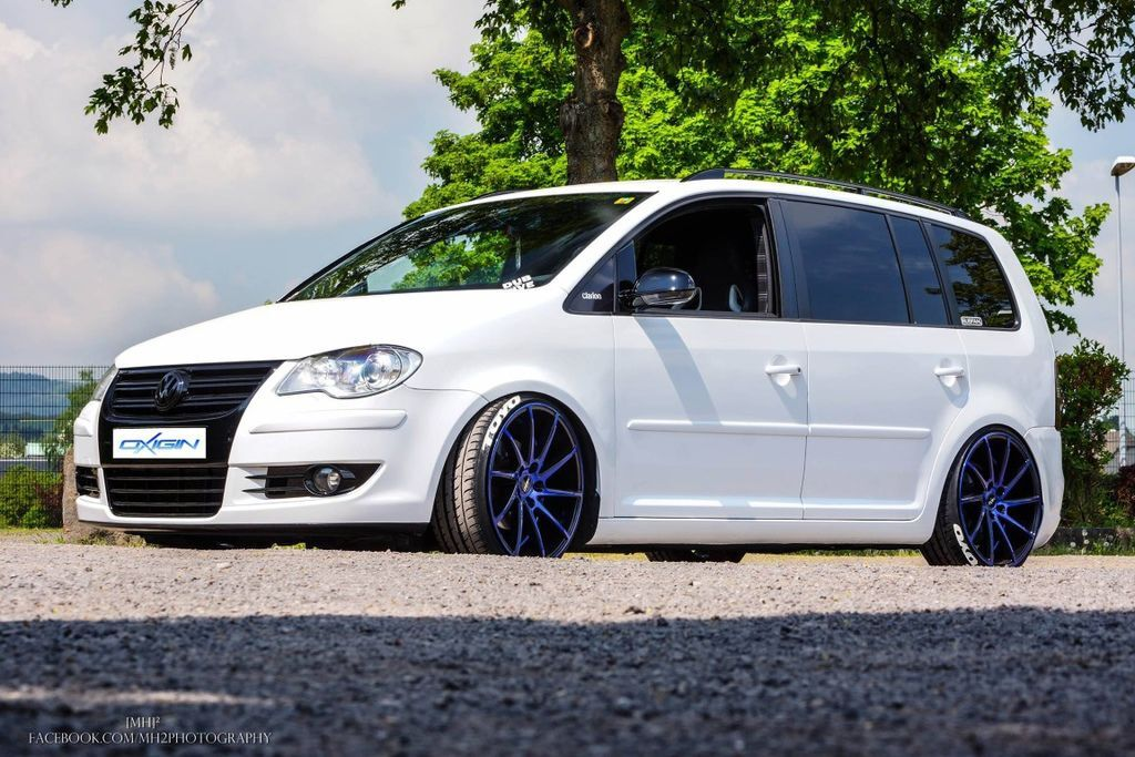 Oxigin 20 Attraction Foil blue 輕量化鋁圈 VW Touran