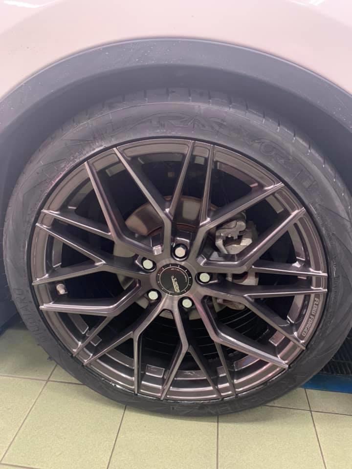 納智捷U6 ABS M11 19吋旋壓鋁圈