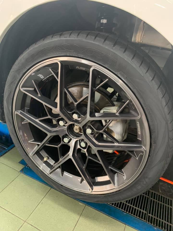 NEW TIIDA 安裝 ABS01 18吋旋壓鋁圈
