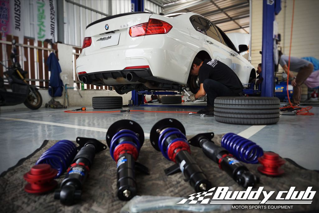 BMW 328iBuddy Club Sport Spec 避震器