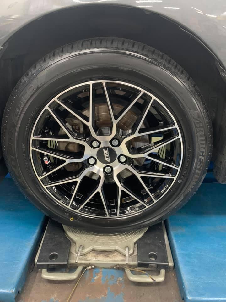 ALTIS 安裝德國ATS鋁圈 AGS06 16吋旋壓鋁圈