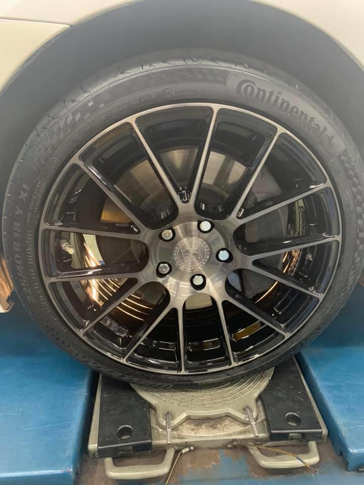 IS200T 安裝AG 18吋旋壓鋁圈